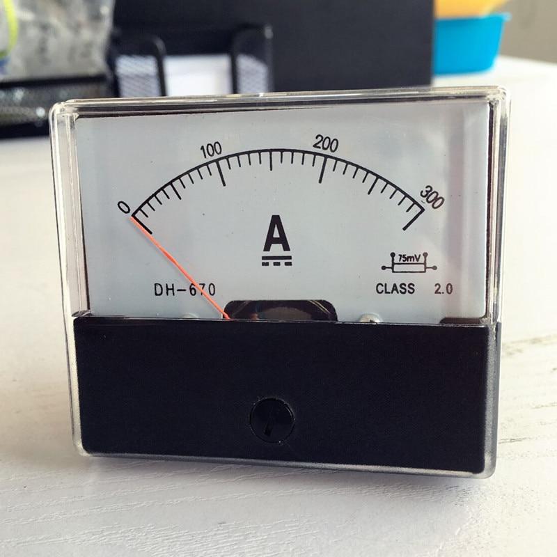 Фонарь амперметр постоянного тока 0-300A 300A Бесплатная доставка