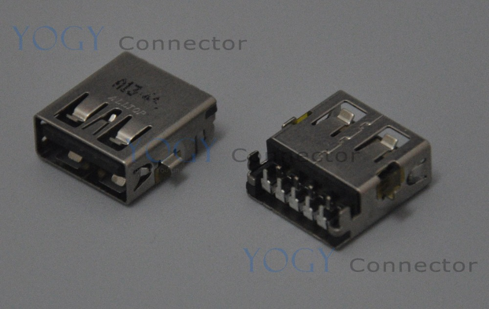 10pcs 14mm USB 3.0 Jack Socket, fit for Toshiba Satellite P55T Series and other laptop motherboard female usb connector port