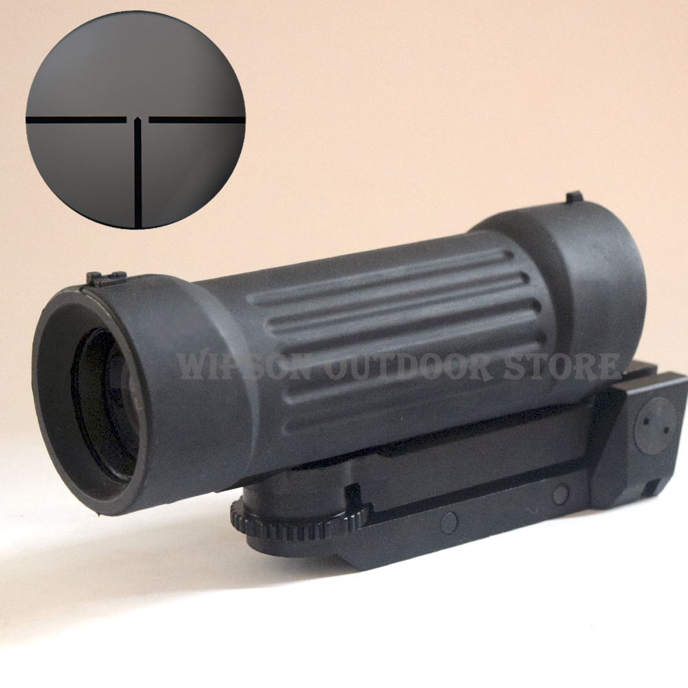 WIPSON Tactical Free Shipping 3.1X Tactical Rifle Scope With Illuminated Retical For Hunting tactical 3 5 14x44 rifle scope front retical scope for hunting shooting cl1 0226