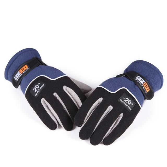 Зимние Утепленные лыжные перчатки ветрозащитные и водостойкие luva motoqueiro наружные горные спортивные Мотоциклетные Перчатки