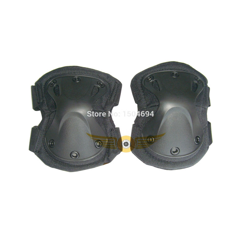 NEW Paintball Military Tactical SWAT Protective Elbow Pads_Black