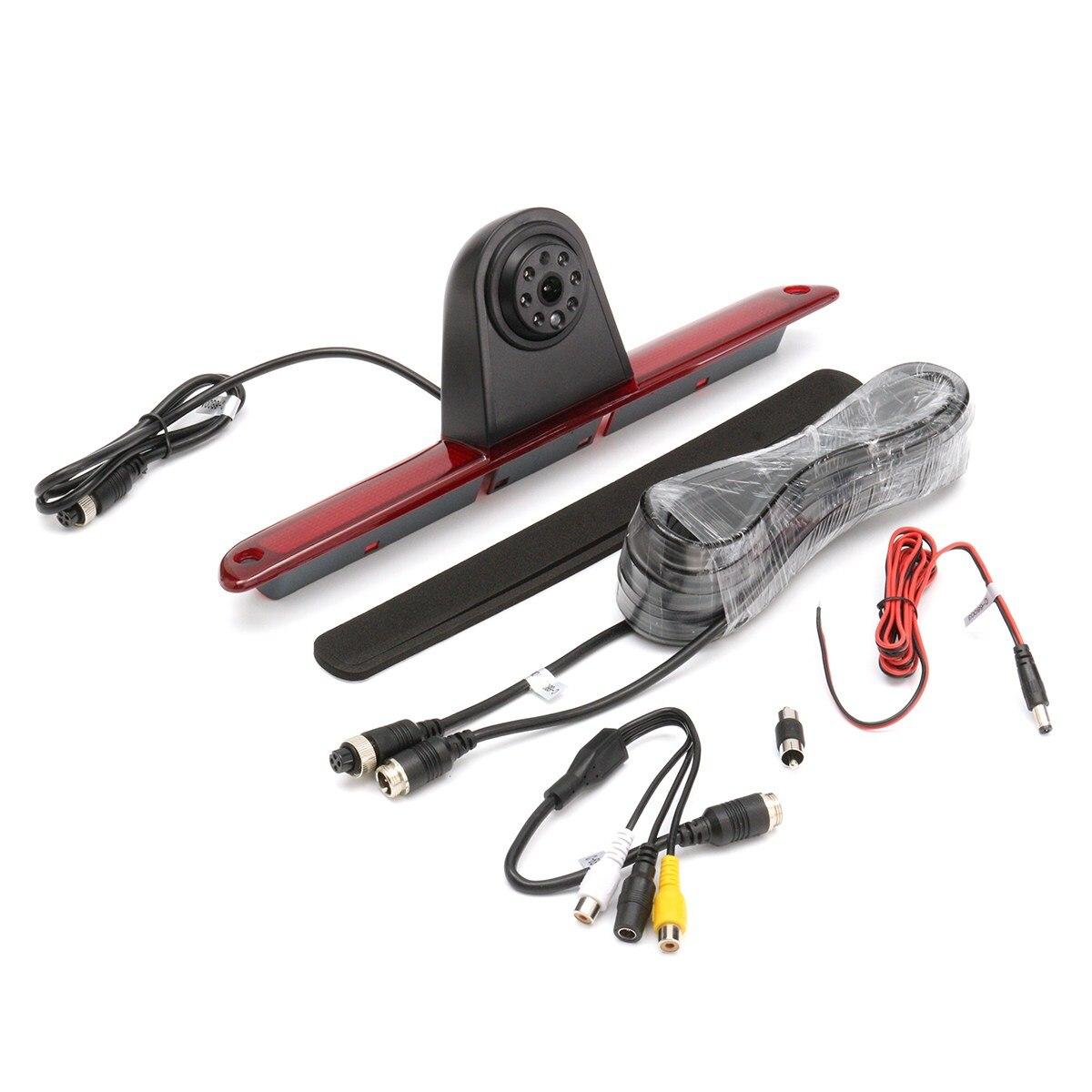 Un ensemble Pour Mercedes/Sprinter/VW/Crafter Voiture CCD de Recul Arrière Caméra LED De Frein Lumière
