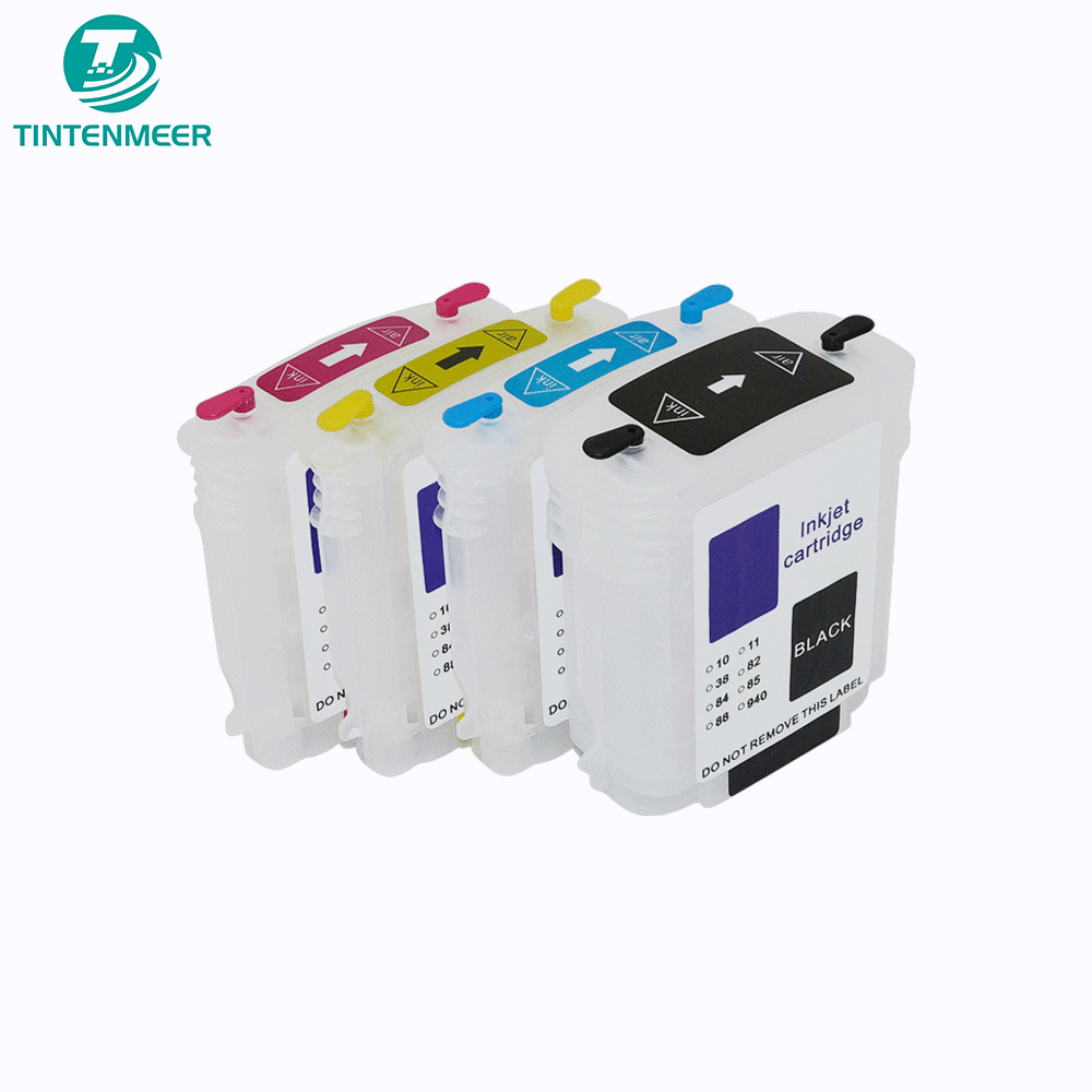 Empty ric refillable ink cartridge for HP 940 940XL Pro 8000 8500a with ARC chip