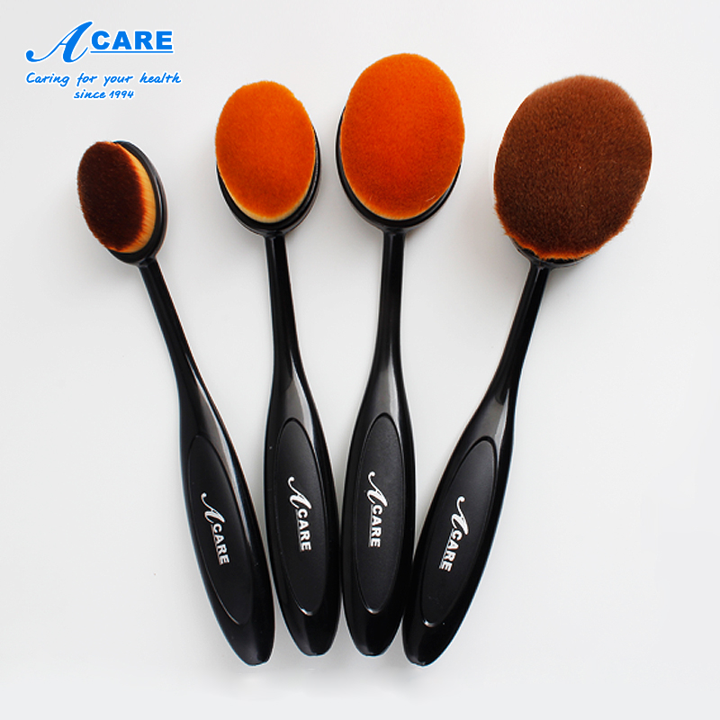 Makeup Brushes Set Foundation Toothbrush Highlighter Brush Kit Eyeshadow Eyeliner Powder Make Up Brand Tool Cosmetic Oval Beauty icycheer 5 7pcs makeup brushes set foundation powder make up brush tool mermaid cosmetic kit