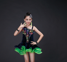 girls costume salsa kids