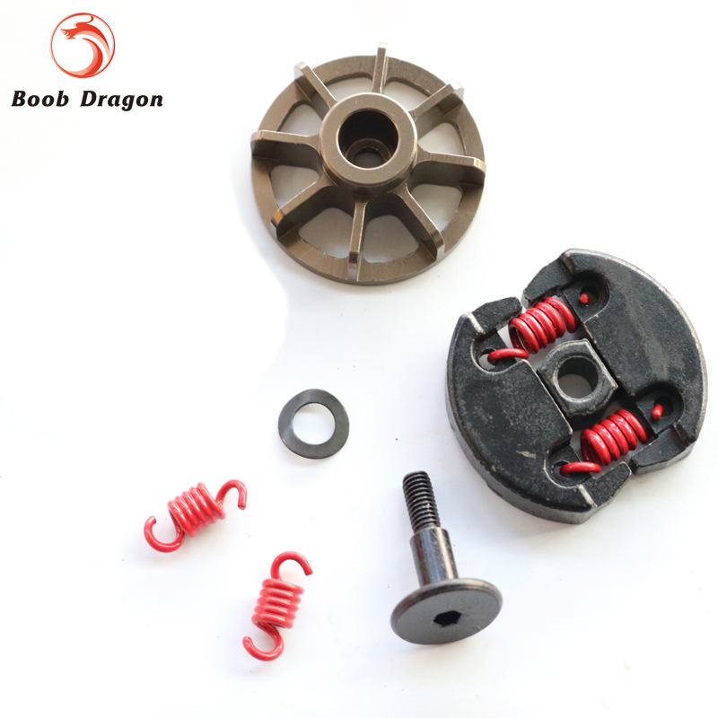 Double 2 Spring Clutch 7000rpm clutch assembly with alloy clutch mount fits 23-30.5cc Gas engine zenoah cy hpi baja 5b ss 5t 5sc baja rc reed valve system for cy zenoah engine