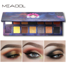 MIAOOL 14 colors Eye Shadow Palette Glitter Palette makeup matte nude color eyeshadow palette cosmetics eyeshadow palette 180 colors matte eye shadow naked palette glitter eye shadow makeup nude makeup set korea cosmetics