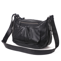 2017 New Style Retro Genuine Leather Handbag Mother Baotou Cowhide Leather Crossbody Bag Single Shoulder Bag