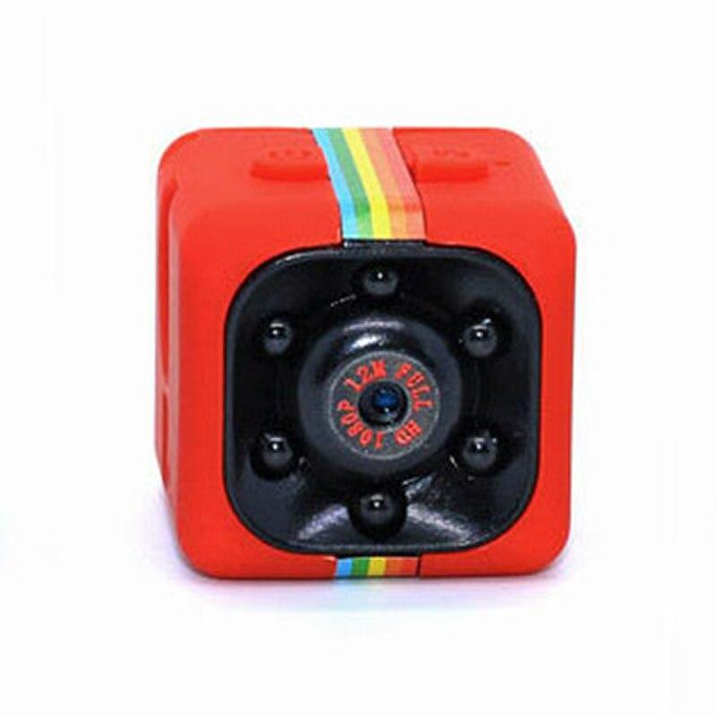 SQ11 Mini Color HD Infrared Light Night Vision Camera 1080P Aerial Motion DV Small Camera Car-borne Surveillance Camera