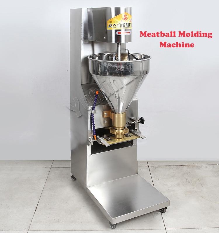 Фрикадельки формовочная машина/автоматическая вертикальная типа фрикадельки формовочная машина/коммерческих фрикадельки формовочная ма