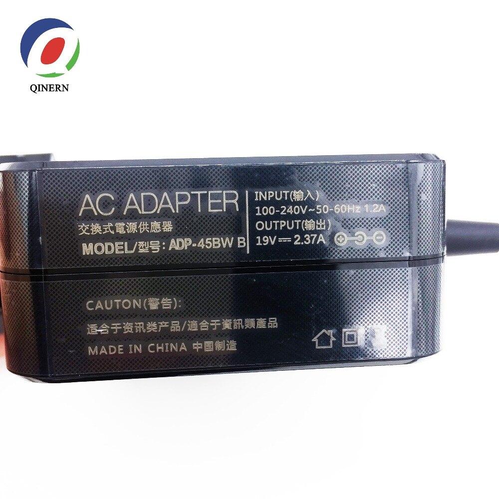 EU 19V 2.37A 45W 5,5*2,5mm AC ноутбук зарядное устройство адаптер питания для ASUS A52F X450 X450L X550V X501LA X550C X551CA X555 ADP-45BW