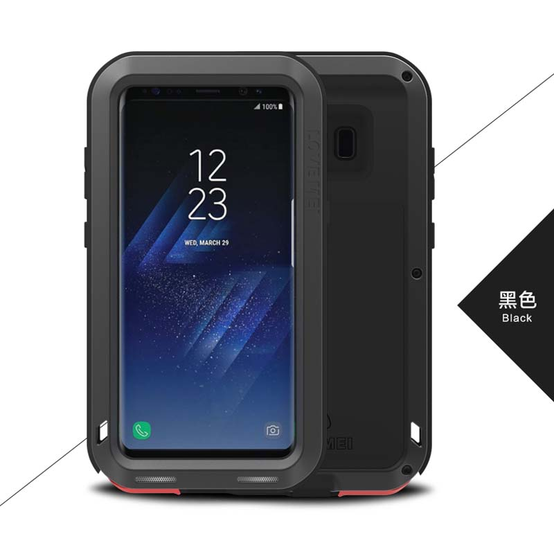 Original Brand Aluminum Metal Phone For Samsung Galaxy S8 S8Plus Powerful Armor Shockproof Life Dustproof Protection Case JS0300