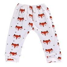 2016 New Arrival Autumn Fashion Baby Boys Girls Animal Printed Fox Bottom Trousers Harem Pants