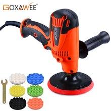 купить GOXAWEE 800W Electric Car Polisher Machine 6 Speed Auto Car Mini Grinder Polishing Machine Sanding For Waxing Coating And Clean недорого