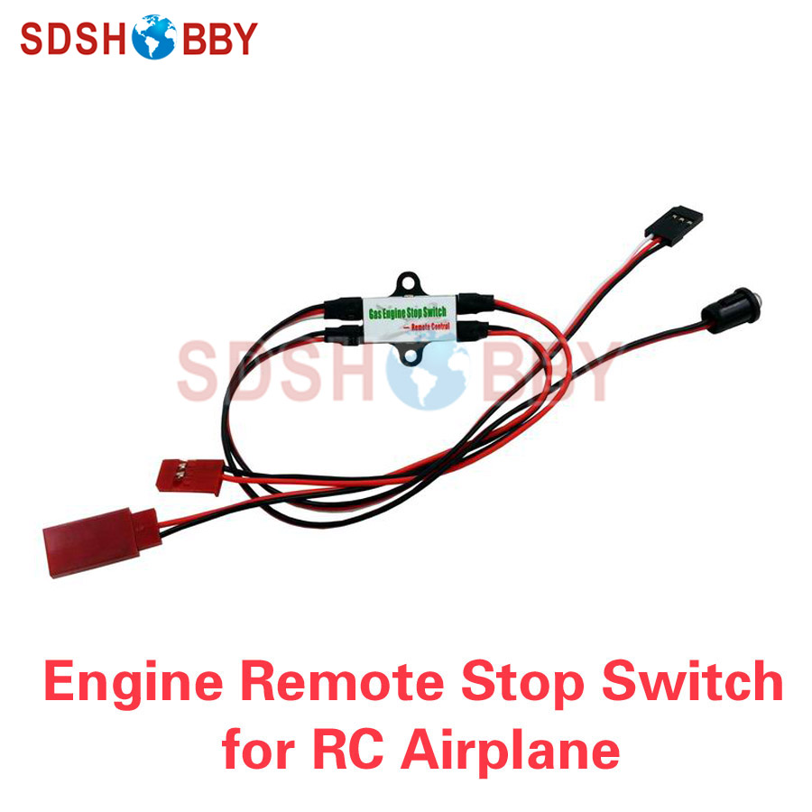 RC Model Airplane CDI Engine Stop Switch Gasoline Engine Remote Kill Switch Flameout Switch image