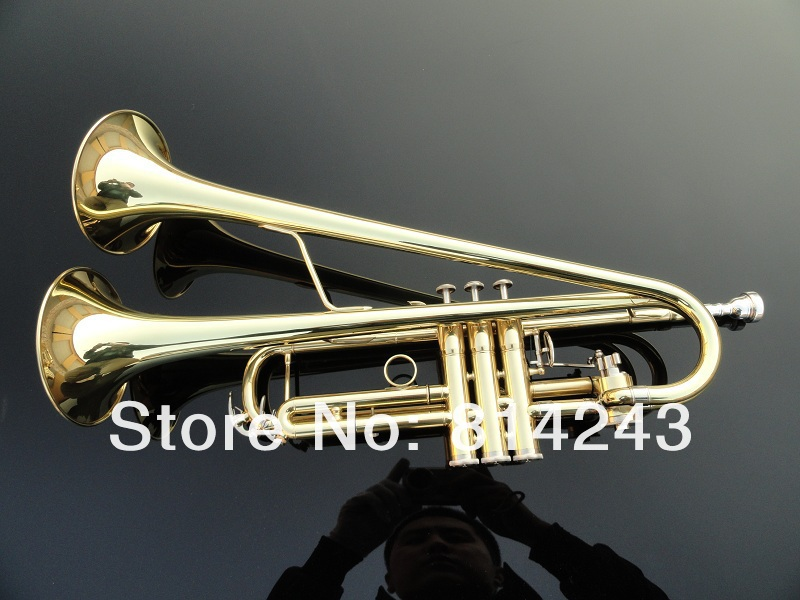 Professional Bb Trumpet Small Copper Surface Gold Lacquer Bb Trumpet Horn Twice Musical Instrument  Bb Trumpet With Gloves 100w 12v monocrystalline solar panel for 12v battery rv boat car home solar power