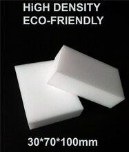 100pcs High density White Magic Sponge Eraser Melamine Cleaner, Dish Washing Kitchen Accessory 100x70x30mm Multi-function Pad
