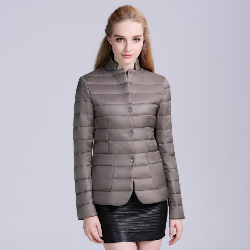 RONGZHIYU2016 Women autumn Coat Fashion Overcoat Winter Coat Parka Slim Short bomber Jacket Women Outerwear Casual Padded 6681
