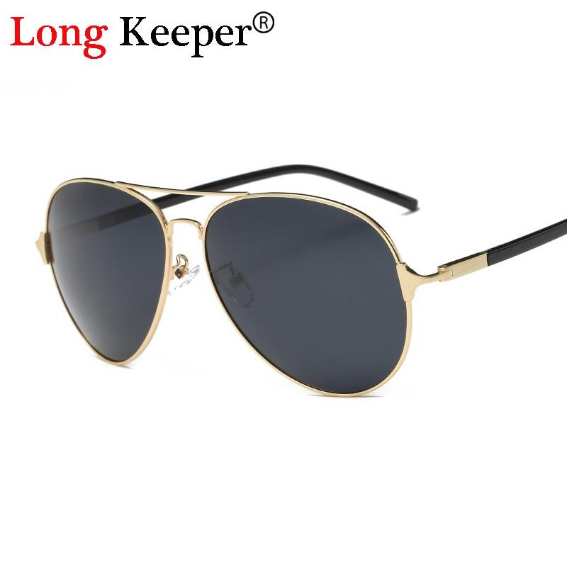 Long keeper 2017 new mode haute qualité métal cadre rectangle verres  polarisés hommes lunettes de soleil hommes conduite lunettes de soleil  gd2643 6f11ccb33900