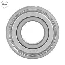 10pcs 15*35*11mm Deep Groove Ball Bearings Miniature Bearing 6202-ZZ linear bearings rodamientos цена 2017