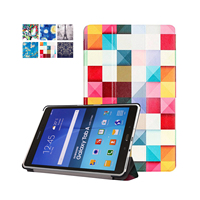 Case For Samsung GALAXY Tab A 9 7 P555 P550 Tablet High Quality Print PU Leather