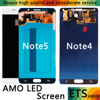 High Quality Super AMOLED Display For Samsung Galaxy Note4 Note 5 N910F N920A N920T N920I N910G