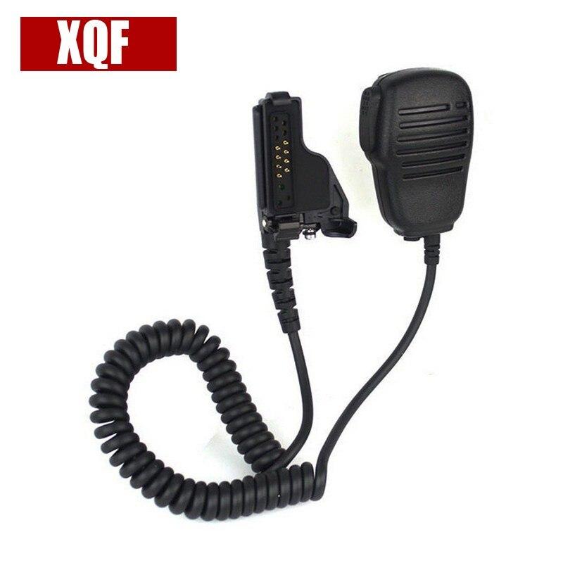 XQF PTT SPEAKER MIC For MOTOROLA MT2000 GP9000 JT1000 PR1500 XTS1500 XTS2500 Radio