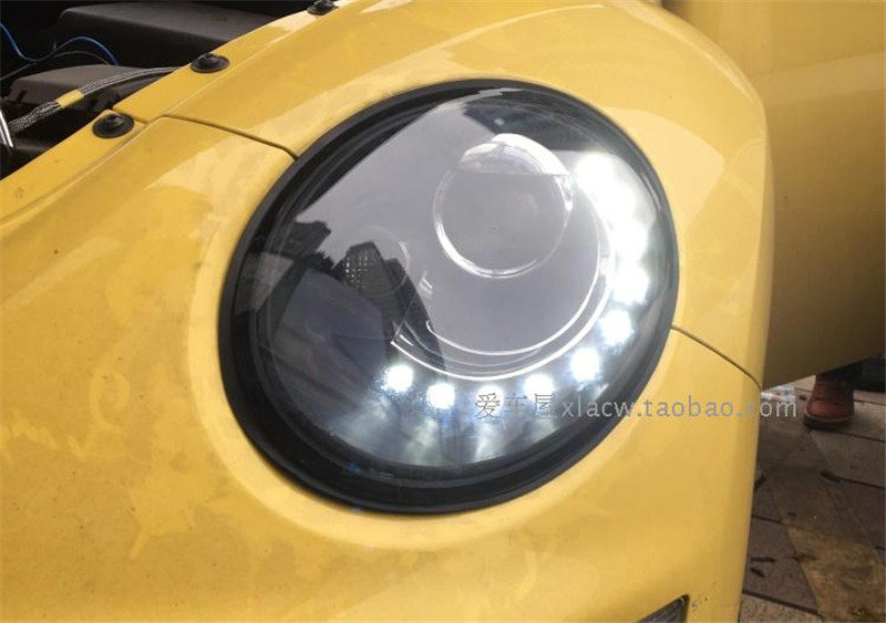 VLAND производитель автомобилей фара для Bettle светодиодный фара 1998 2005 для Bettle с светодиодный DRL ксеноновая лампа plug and Play Дизайн