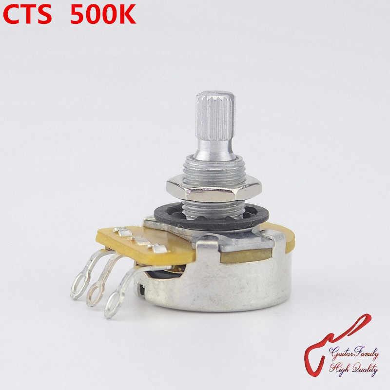 Grand potentiomètre (POT) pour guitare électrique (basse), fabriqué à TAIWAN, 1 pièce, CTS A500K/L500K (B500K)