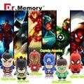 usb flash drive new hot pendrive Captain America super hero minions pen drive 32GB 16GB 8GB 4GB 2GB cartoon usb 2.0 Pen drive