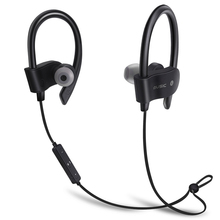 Wireless Bluetooth Earphone Sports Sweat proof Stereo Headset Bass Earphones with Mic for iPhone  Samsung Phone Smartphone syllable d300l sweat proof sports bluetooth earphones with mic