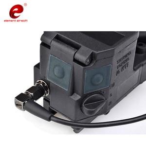 Image 4 - Element Airsoft Taktische Taschenlampe ELLM01 Rot IR Laser Infrarot Licht Laterne Für Jagd Gun Waffen Licht EX 214
