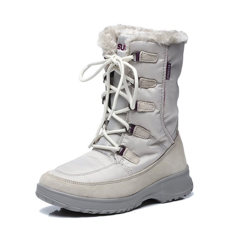 High Quality Women's Outdoor Winter Hiking Trekking Snow Boots Shoes For Women Warm Climbing Mountain Boots Shoes Woman Female