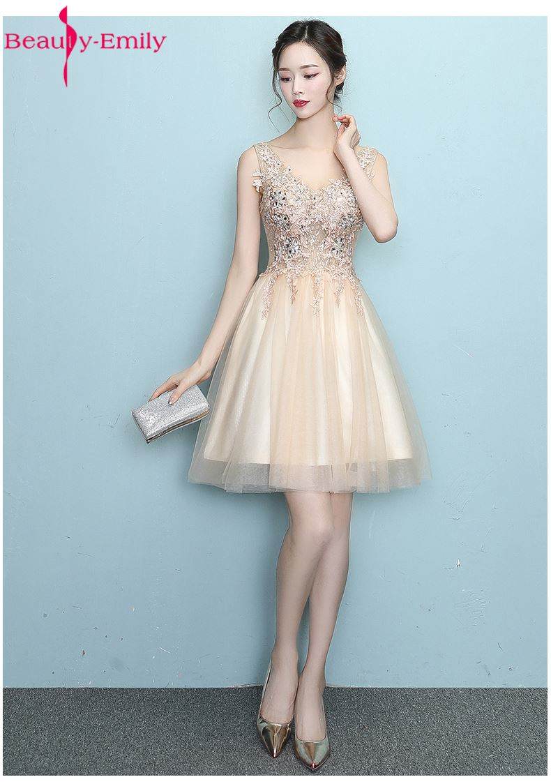 Amazing Short Gold Party Dresses Crest - All Wedding Dresses ...