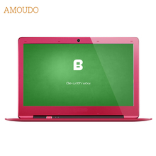 Amoudo 14 inch 4GB Ram+120GB SSD Windows 7 System 1920X1080P FHD Drawing Case Intel Pentium Quad Core Laptop Notebook Computer
