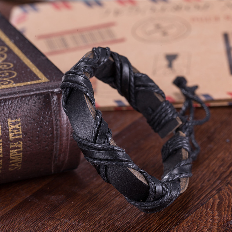 Bracelet cuir viking SH30 5
