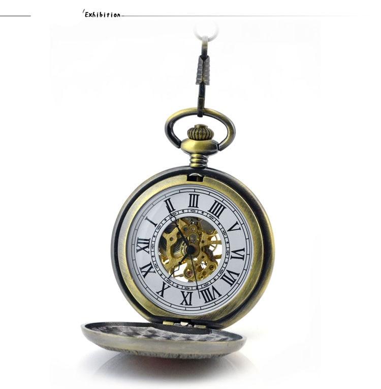 relógio de Bolso Fob Relógios Mens Relógio