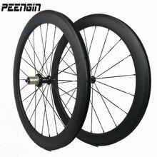 650C небольшой велосипед карбоновое колесо клинчер колесная установка для велосипедные гонки на дорогах/тренировочная езда с легкое ношение ступицы спица для колеса