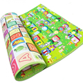 Baby Crawling Mat Baby Play Mat Fruit Letters Farm Baby Carpet Developing Mat for Children Baby Cushion Toy Game Pad WJ269