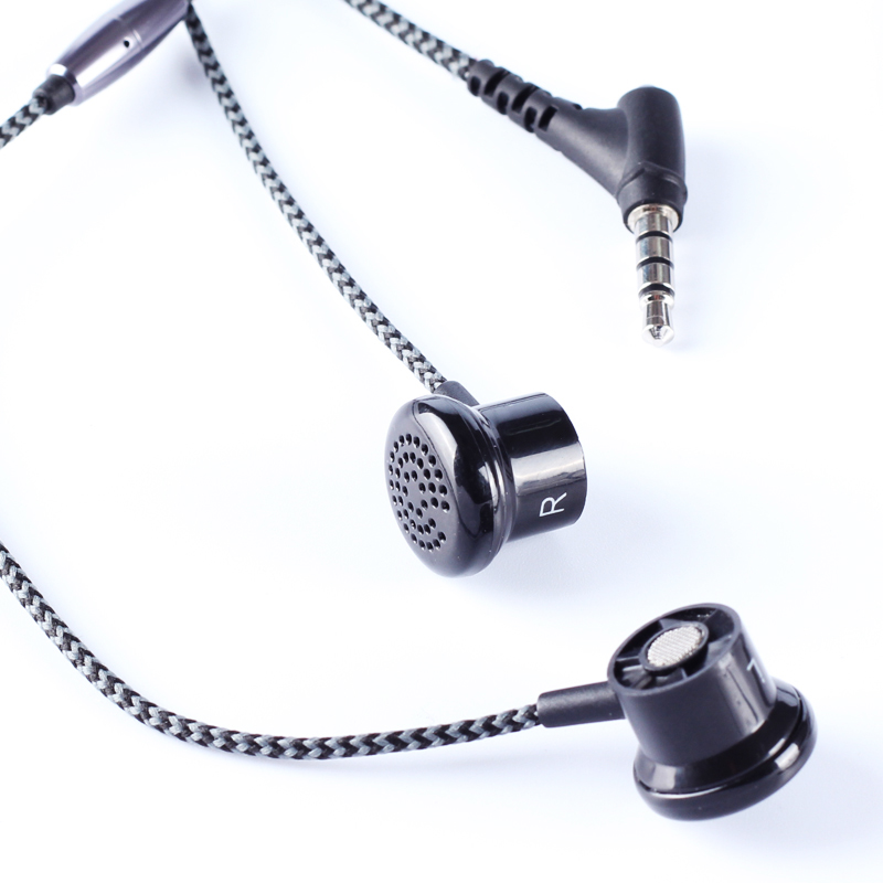 High Quality Original ERQU EQ200S Stereo In-Ear Earphone Metal Gold Plated Bass Stereo with Microphone for IPhone Mobile Phone cafele professional in ear earphone metal heavy bass high fidelity sound quality music earphone with microphone for mobile phone