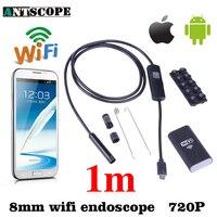Antscope Iphone Android WiFi Endoscope HD 8มิลลิเมตร720จุด1