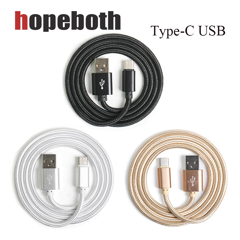 5pcs/pack OD4.5mm USB Type C Cable, Braided USB C Fast Mobile Phone Cable For Samsung Xi ...