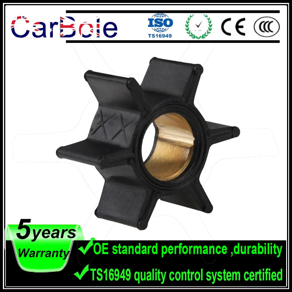 CARBOLE  Outboard Motor Quicksilver Water Pump Impeller 47-89981 47-65957 18-3039 for  Mercury