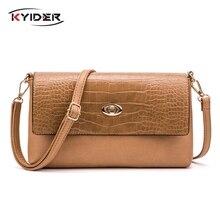 KYIDER Fashion Women Shoulder Bag Designer Handbag Leather Womens Crossbody Messenger Bags Ladies Purse Female Flap Bolsa