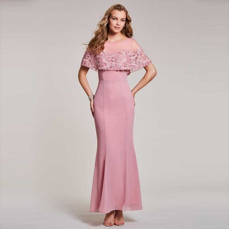 Dressv դեղձի երեկոյան զգեստ էժանագին - Հատուկ առիթի զգեստներ - Լուսանկար 4