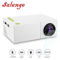 YG310 Mini Portable LCD Projector Home Theater Proyector USB SD AV HDMI 600 Lumens 1080P HD LED Portable Projector