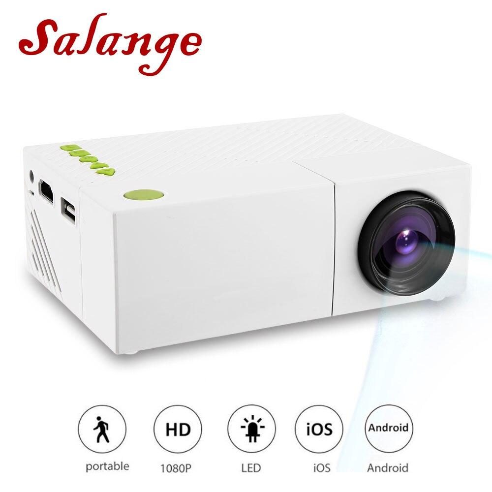 YG310 Mini projecteur LCD Portable Home cinéma projecteur USB SD AV HDMI 600 Lumens 1080 P HD projecteur à LED Portable