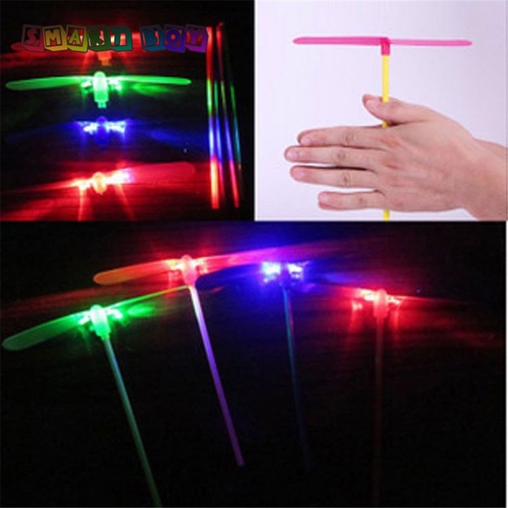 LED Bamboo Dragonfly flashing fly to the sky best kid birthday party toy Buy 1 Get 1 FREE can be plaied day&night girls&boys
