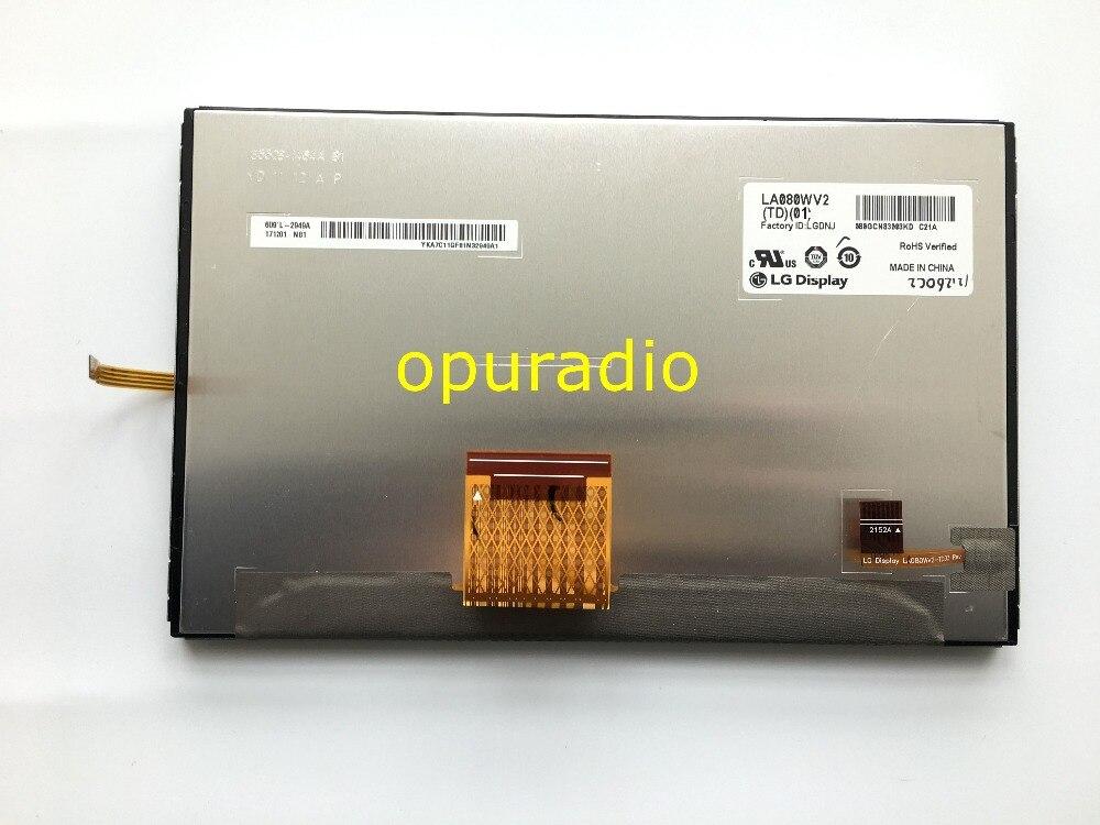 """オリジナル新しい8.0 """"インチ液晶ディスプレイ画面la080wv2 (td) (01) LA080WV2 TD01 la080wv2 td01タッチスクリーンlcdパネル用車の自動車部品  グループ上の 家電製品 からの スクリーン の中 2"""