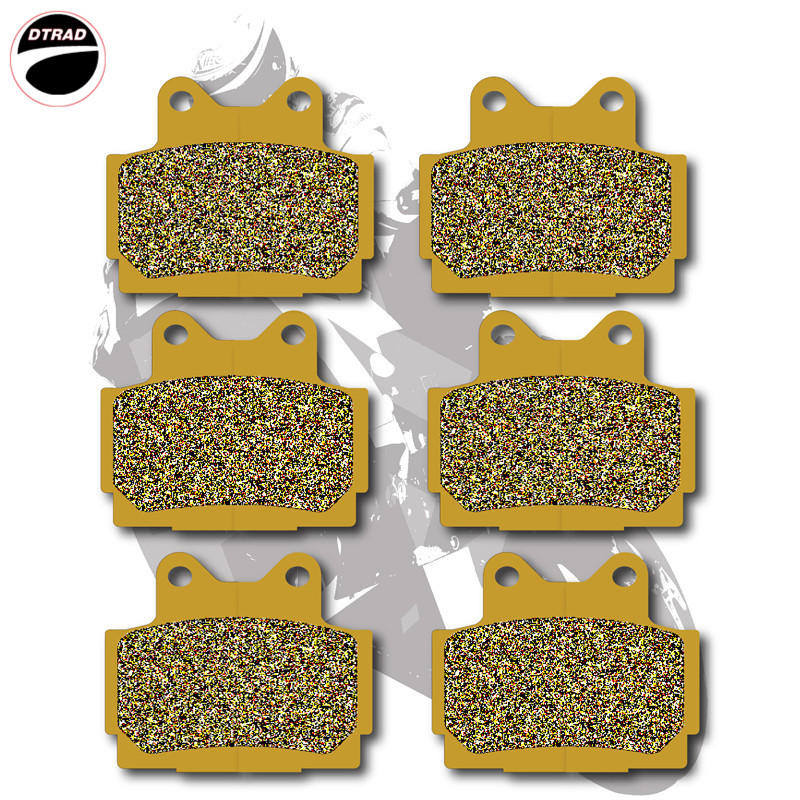 Motorcycle Brake Pads Front+Rear For <font><b>YAMAHA</b></font> <font><b>RD</b></font> <font><b>350</b></font> 85-95 SRX 600 85-87 RZ 250 R (1AR/1XG) RZ 250 RR (5IL) image
